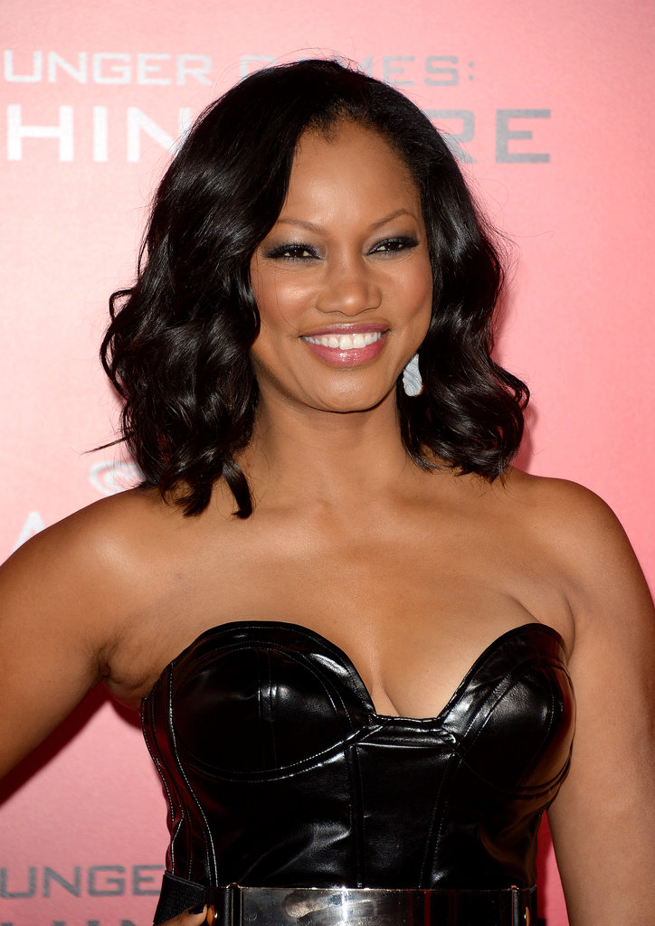 Garcelle Beauvais stepped out to support the LA premiere wearing her lob-length hair in loose waves.