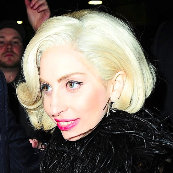 Lady Gaga Arriving at Saturday Night Live