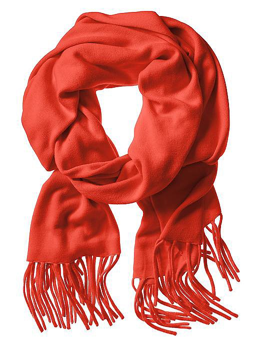 We'd be sure to bring a warm, sophisticated scarf like this Banana Republic solid fringe scarf ($160). You'll wear it on the plane, out to dinner, curled up by the fire, and beyond.