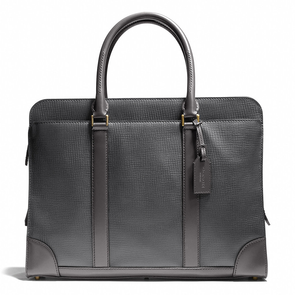 Whether he's looking to land the promotion or nail the interview, the Coach Crosby briefcase ($698) will ensure that he dresses to impress.