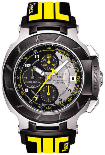 TISSOT Men's T-Race Moto GP 2012 C01.211 Limited Edition Black Automatic Sport Watch
