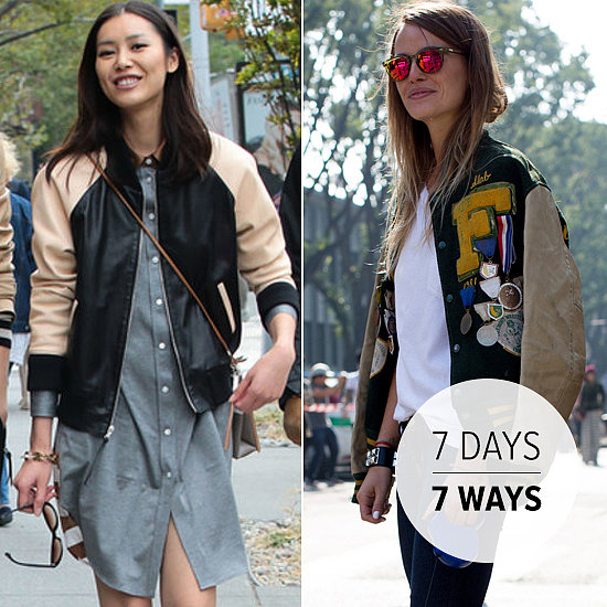 7 Ways to Wear the Preferred Jacket of Street Style Stars