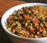 Stuffings: Spiced Wheat Berry Pilaf