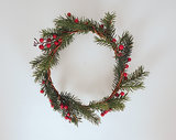 Channel your inner Christmas fairy with this adorable Winter holiday hair wreath ($92).