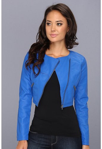 BB Dakota - Zuma Vegan Leather Jacket (Pool Blue) - Apparel