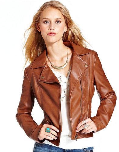 American Rag Jacket, Quilted Moto Jacket