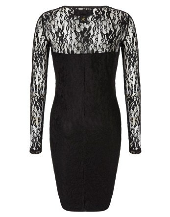 Kardashian All Over Lace Midi Dress