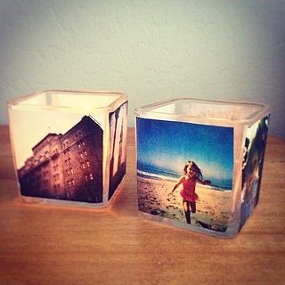 DIY Picture Votives