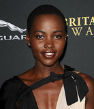 Who else but Lupita could pull off brown lipstick so elegantly?