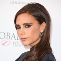 Victoria Beckham With Smoky Eyeshadow