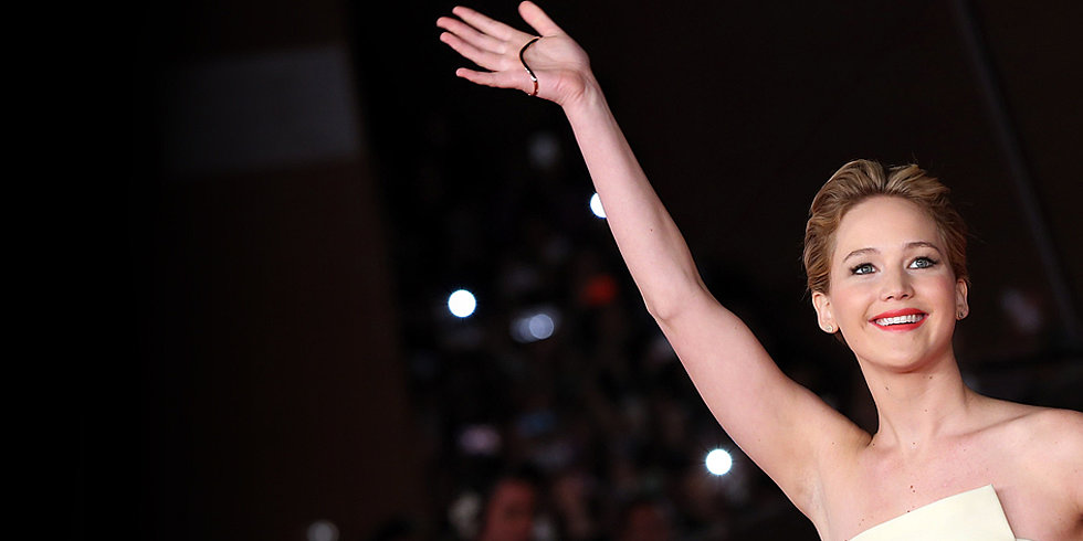 Jennifer Lawrence Spilled Mints, and We Can't Stop Laughing