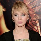 Jennifer Lawrence's Short Hair on Catching Fire Red Carpet