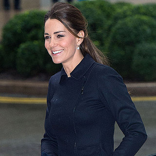 Kate Middleton Navy Blue Outfit