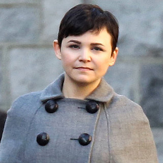 Ginnifer Goodwin's Baby Bump on Once Upon a Time Set