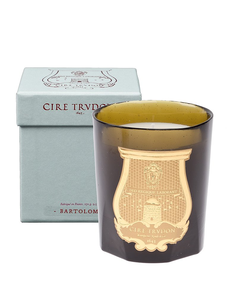 This Cire Trudon Bartolome Candle ($71) doesn't just look pretty, it also smells delicious.