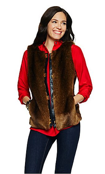 If your mom's a trendsetter, she'll love being in on one of Winter's biggest trends with this C. Wonder Faux Fur Vest ($148).