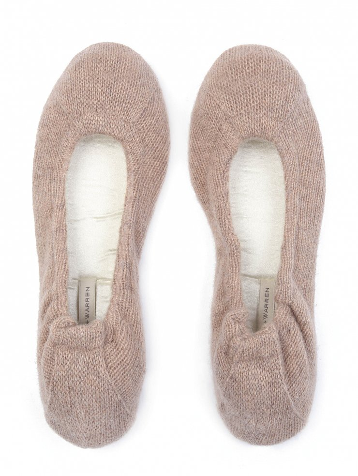 These White + Warren Cashmere Slippers ($185) come complete with a satin bag to make the gifting extraspecial.