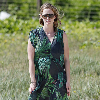 Emily Blunt Pregnant Vacation Pictures
