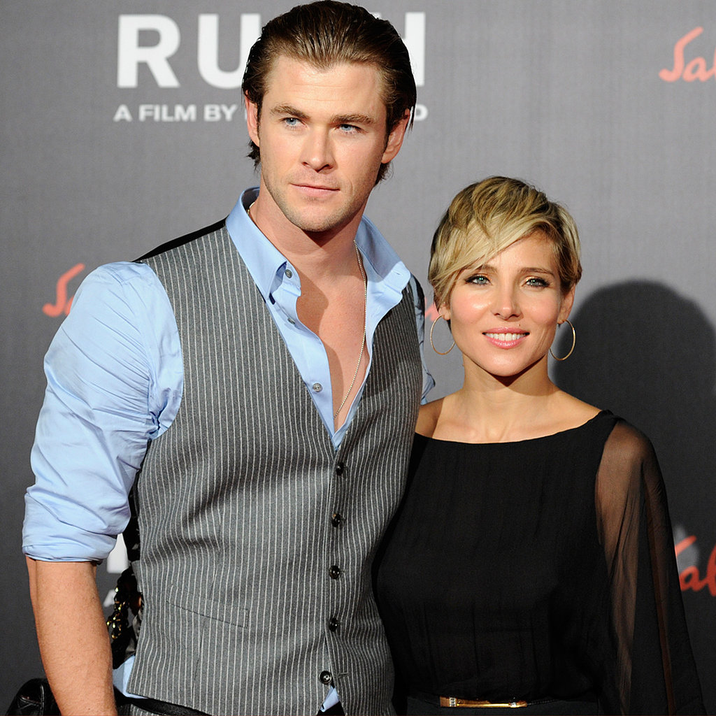 Chris Hemsworth with beautiful, Wife Elsa Pataky