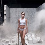 "Baring all for her ""Wrecking Ball"" video in September 2013. Source: Instagram user mileycyrus"