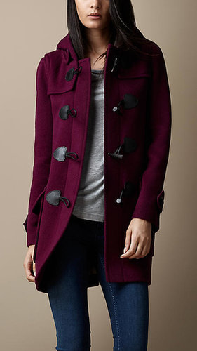 Wool Fitted Duffle Coat
