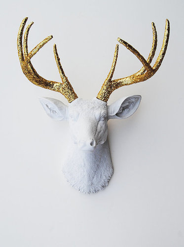 White Faux Taxidermy's Etsy shop is full of amazing wall art, and I'm especially loving the Winston resin deer head ($120). The gold antlers really pop and would look great against a dark-colored wall — talk about a conversation piece!  — Britt Stephens, assistant entertainment editor