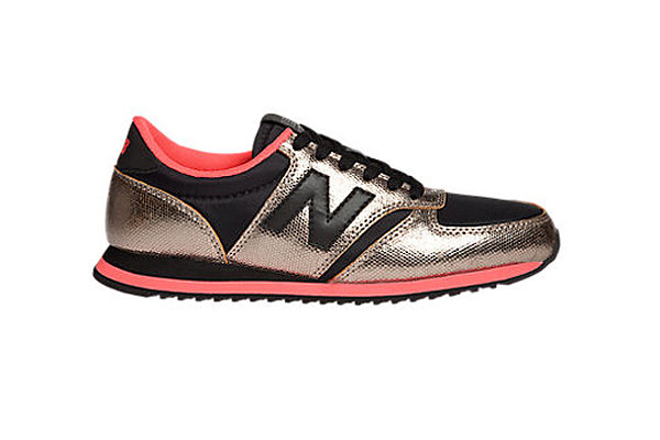 Let's be honest; the athletic shoe trend of late has almost nothing to do with working out and everything to do with looking cool, casual, and sporty. I will likely not be hitting any treadmills in these Heidi Klum for New Balance sneakers ($90), but I will be pairing them with leather leggings and an oversize sweater for a day of running errands. — Britt Stephens, assistant entertainment editor