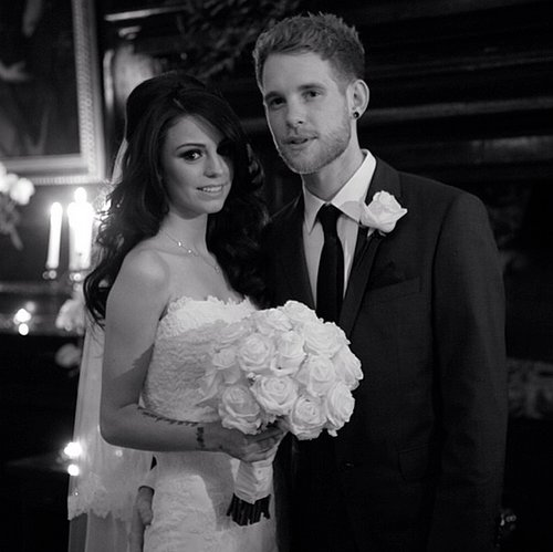 Cher Lloyd got married to Craig Monk in a secret ceremony on Nov. 18, 2013. Source: Instagram user cherlloyd