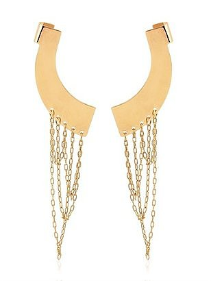 "I'm head over heels for every piece of glam-punk gorgeousness jewelry designer Maria Francesca Pepe has been churning out as of late — especially these ""Never Is a Promise"" ear cuffs ($289). They're bold, but sophisticated, and the kind of gift that qualifies as a true treasure. — Lindsay Miller, entertainment editor"
