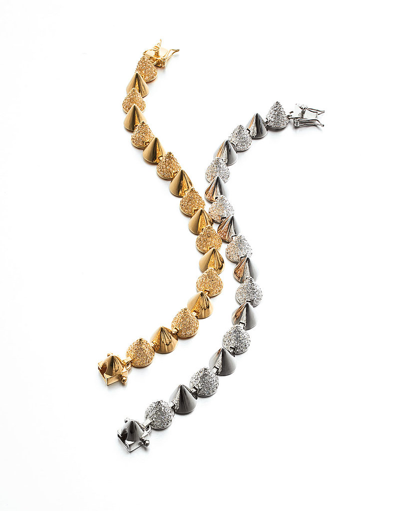 Eddie Borgo Alternating Small-Cone Bracelets ($480 each)