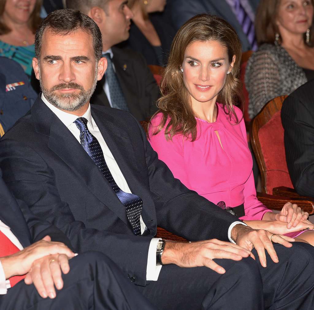 The Spanish royals attended an event for the Miami Book Fair International on Sunday.