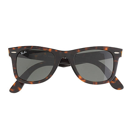 Combining two great classics, Wayfarers and tortoise shell, these Ray-Ban Wayfarer sunglasses ($150) are a go-with-anything option. The brand's popular style is celebrity-approved, worn by everyone from Beyoncé to Robert Pattinson, and they look good with all kinds of styles. It's a no-brainer! — Laura Marie Meyers, assistant news editor