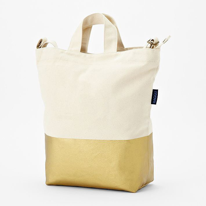Gold-dipped items seem to be everywhere lately, and you can get in on the trend for the holidays by gifting with West Elm's Baggu Dipped Tote ($45). The multipurpose bag comes in several different shades, and monogram fans can take it up a notch by personalizing it with initials. — Laura Marie Meyers, assistant news editor