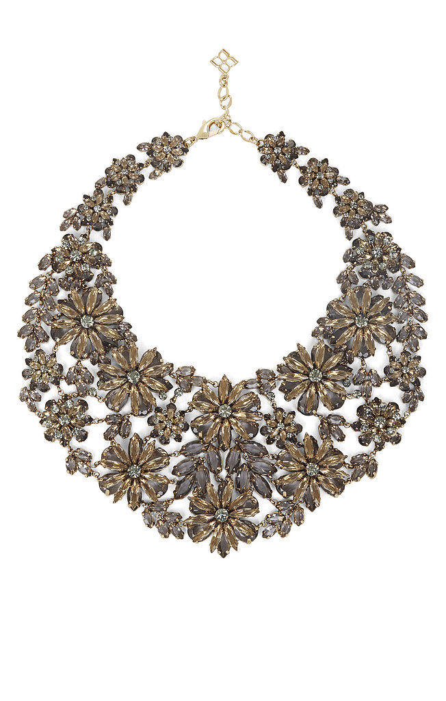"BCBG Max Azria Floral Statement Necklace ($198) ""You'll command attention in this bold accessory."""