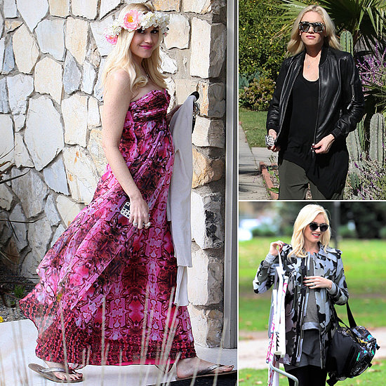 Musical Mama: See All of Gwen Stefani's Pregnancy Looks!