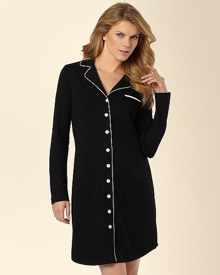 This Soma Intimates Embraceable Notch Collar Sleepshirt ($42) was made for the classic girl.