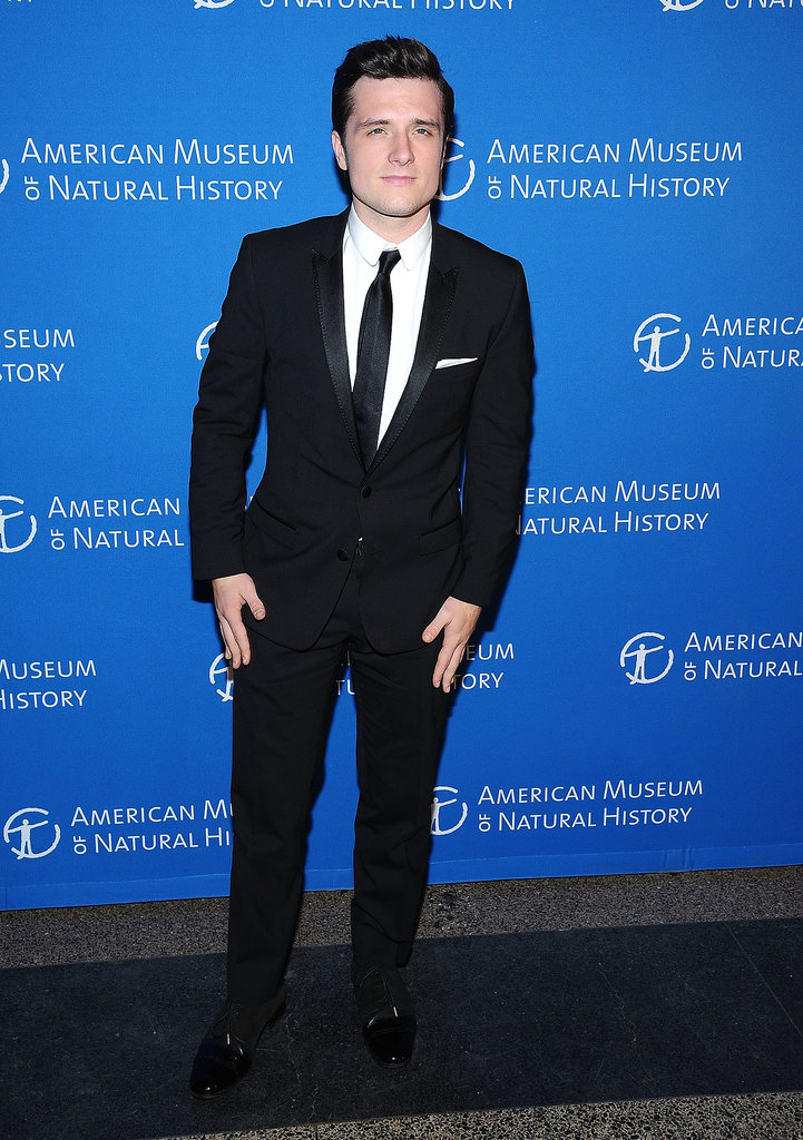 Josh Hutcherson attended the Museum of Natural History Gala in NYC.