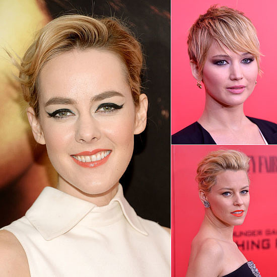 See the Best Beauty Looks From the Catching Fire Red Carpet