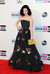 Katy Perry Brings Oscar to the AMAs Red Carpet