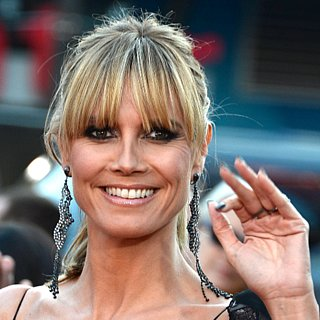 Heidi Klum Hair and Makeup at American Music Awards 2013