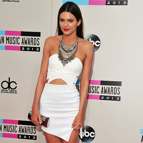White Dresses at American Music Awards 2013