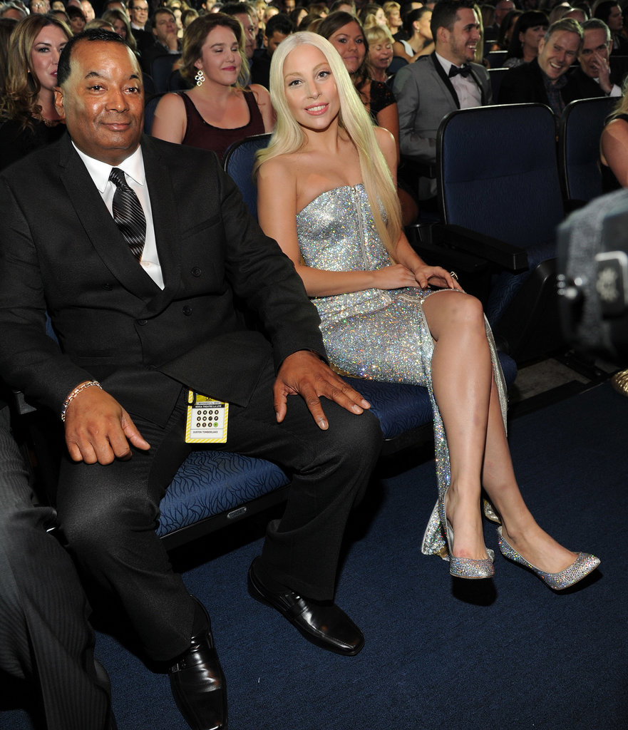 Lady Gaga attended the American Music Awards.