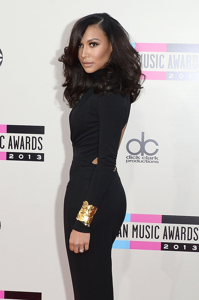 Naya Rivera showed her serious side.