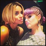 Kelly Osbourne gave her best fashion face with Ciara. Source: Instagram user kellyosbourne