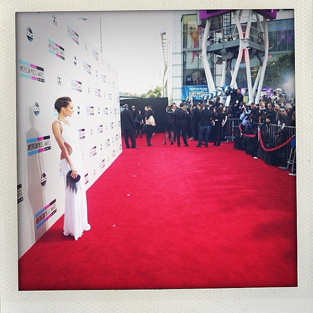 Nicole Richie was a vision in white on the red carpet. Source: Instagram user nicolerichie