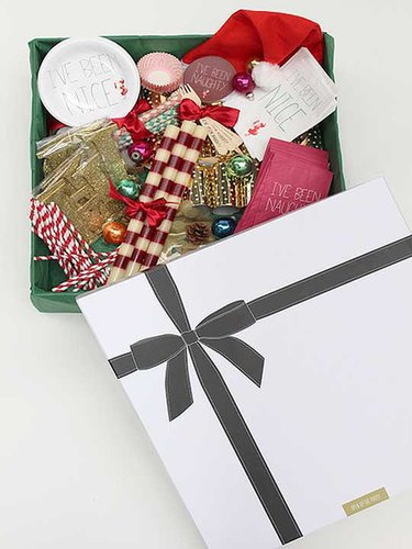 Any good hostess would love this Holiday Party in a box ($95) from Revelry House, the new venture from Laguna Beach star Lo Bosworth, who knows a thing or two about fashionable fetes. This holiday version comes with enough decorations, goodie bags, and party crackers for a party of 12 to 15 people. — Maria Mercedes Lara, associate editor