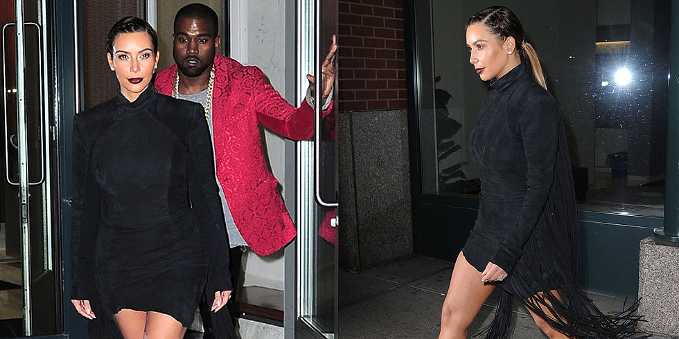 Kim Kardashian's Legs Steal the Spotlight