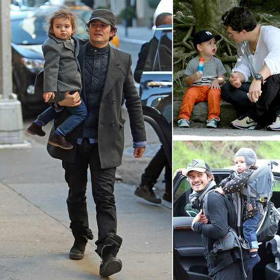 Orlando and Flynn's Cutest Father-Son Moments!