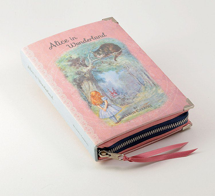 Alice in Wonderland Clutch