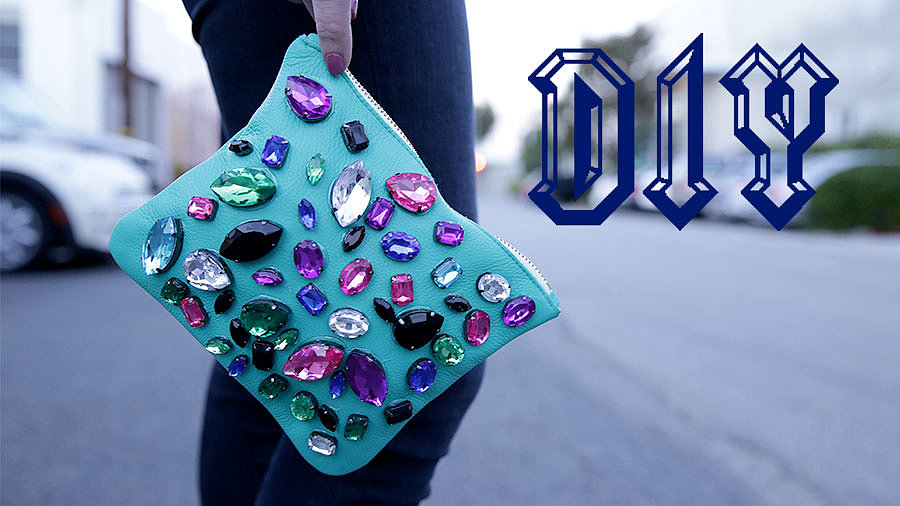 DIY: The Perfect Party Clutch in Two Steps!